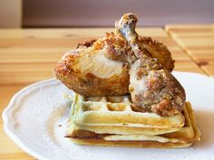 Chicken and Waffles ($9) at Pecking Order.