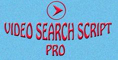 Video Search Script Pro . Video Search Script Pro allows you to create a full featured video website on shared hosting ( thus, allowing you to create video webiste at 10% lower cost ). You can allow users to add there video and feature it for particular keywords. Featured videos are shown first in the list if someone search