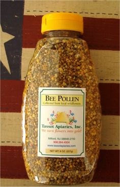 honey bee pollen granules Best way to get rid of allergies!! Just a couple granules a day.helps with asthma too !