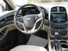 Great Looking Cockpit . 2015 Chevy Malibu, Tom Clark, How To Run Longer