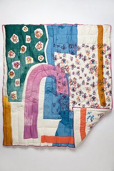 Garden Art Quilt - anthropologie.com
