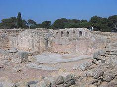 Gerona Ampurias - Basilica paleocristiana