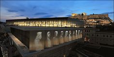 The Acropolis Museum (Mouseio Akropolis) is an archaeological museum focused on the findings of the archaeological site of the Acropolis of Athens. Athens Acropolis, Athens Greece, Parthenon Greece, Empire Ottoman, Ancient Greek Architecture, Archaeological Site, Ancient Greece, Places To See, Temples