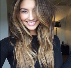 Really love and want this hair style and color