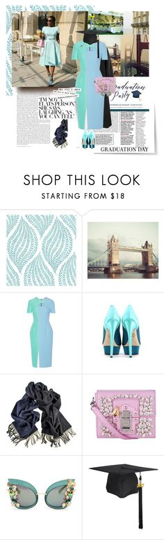 """""""The Big Day_Graduation Edition"""" by trudith ❤ liked on Polyvore featuring Roksanda, Charlotte Olympia, Black, Dolce&Gabbana and Marc Jacobs"""