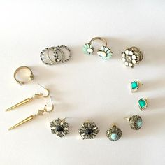 So in love -http://ift.tt/1OOU5VT #trendy #studs #turquoise #gemstone #earrings #cute