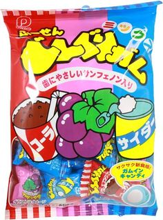 Donguri Gum Collection $2.50 http://thingsfromjapan.net/donguri-gum-collection/ #Japanese gum #Japanese snack #delicious Japanese snack