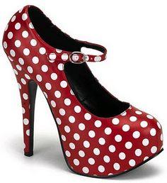 Polka Dots Red Shoes.... ¿Qué te parecen?