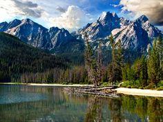 Stanley Lake, central Idaho