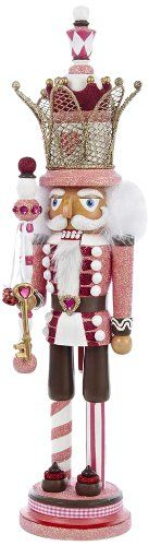Kurt Adler 20-Inch Hollywood Nutcracker with Crown, King, Pink Kurt Adler http://www.amazon.com/dp/B00IGQH9LI/ref=cm_sw_r_pi_dp_8gHhub02TS2GC