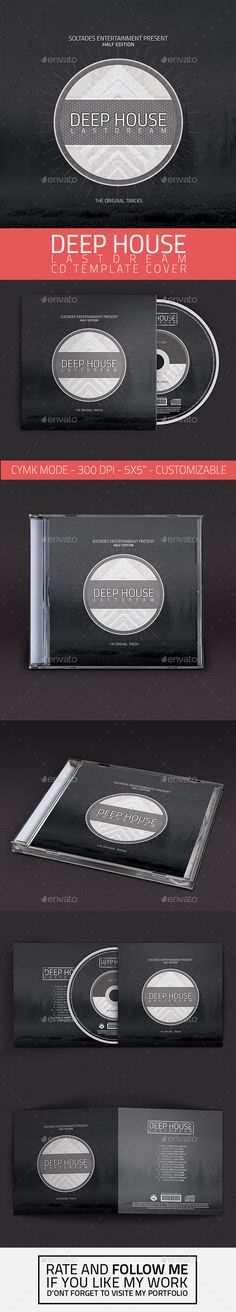 Color your Life with Electro Music CD\/DVD Template Electro music - psd album cover template