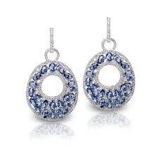 chopard sapphire earrings - Google Search