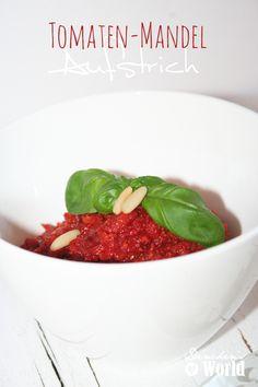 Aufstrich mit Tomaten und Mandeln by www.dinchensworld.de