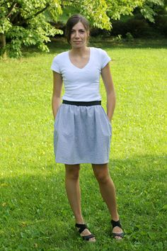 skirt tutorial--i wish i could wear this!