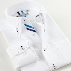 Smartfive White Men Shirt 2016 New Brand-Clothing Long Sleeve Cotton Camisa Masculina White Slim Fit Shirt Men SFL4K07B