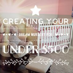 While doing the research for this post, I reached out to a bunch of mothers, like myself, and I asked them what the budget for their nursery was. I got answers ranging from $1,500 to women who didn...