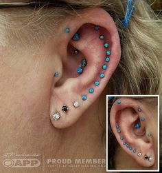 Found on instagram via @needlepusher, fell in love with the placement and jewelry!