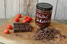 třešňový džem s čokoládou Pudding, Baking, Desserts, Food, Fine Dining, Tailgate Desserts, Deserts, Bakken, Eten