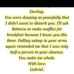 Awww Gabriel Emerson from Gabriel's inferno