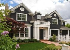 Charcoal exterior: Sherwin Williams Iron Ore #7069 Front door or shutters.