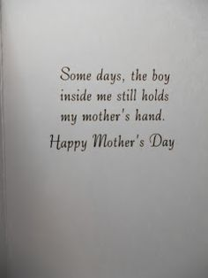 Mother's Day card idea - (change to girl)