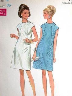 Butterick Dress Pattern No 4784 UNCUT Vintage by CaliforniaSunset
