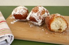 Fastnachts are yeasted doughnuts of German descent. #mardigras