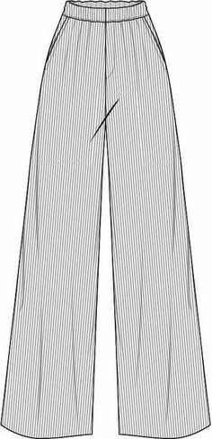 Fashion Sketch Template, Fashion Design Template, Fashion Design Drawings, Fashion Sketches, Fashion Flats, Fashion Show, Croquis Fashion, Flat Drawings, Clothing Sketches