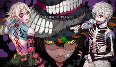 Tokyo Ghoul (M: Oh my god it' so awesome picture, look at his fingers)