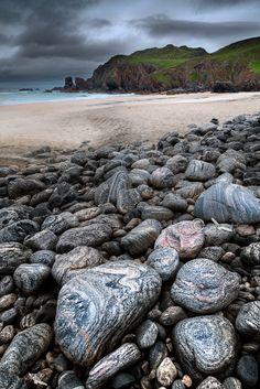 Dalmore Beach. ( Traigh Dhail Mor ) Isle of Lewis. Scotland.