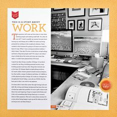 This Is A Story About Work by Cathy Zielske #SCTMagazine #scrapbooking #layout