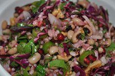 Bakliyat Salatası | Kuzinede Kızaran Ekmek
