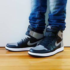 """ce3f81e48675 Comment Go check out my Air Jordan 1 Retro High OG Shadow 2018 on feet  Quick link in bio. . . . . .  jordansdaily  jumpman…"""""""