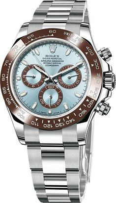 Rolex Cosmograph Daytona 2013 in Platinum.To have this 2013 Rolex Collection Watch as a Gift for myself ! Dream Watches, Fine Watches, Luxury Watches, Cool Watches, Rolex Watches, Watches For Men, Rolex Cosmograph Daytona, Rolex Daytona, Beautiful Watches