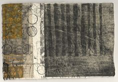 "Paul Furneaux ""Grey Sea"" Size: 15 x 21cm    Media: mokuhanga and etching"