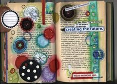 Altered book by PhizzyChick