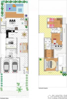 00027 - humanizado alt 2 Interior Architecture, House Plans, Floor Plans, Layout, House Design, How To Plan, Tiny Home Designs, Modern Architecture, House And Home