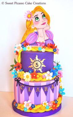 Rapunzel (Tangled)Cake