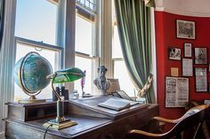 Charles Dickens suite in Bleak House, Broadstairs, Kent, UK You can now stay in this suit where Charles Dickens wrote David Copperfield and started to write Bleak House, the adjacent bedroom was also slept in by Queen Victoria