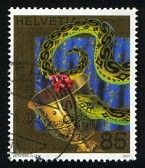 Switzerland postage stamp 2007