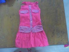 vestido para niña confeccionado en popelina