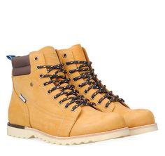 ΑΝΔΡΙΚΑ ΜΠΟΤΑΚΙΑ ΟΡΕΙΒΑΤΙΚΑ DEVERGO (WHEAT) Hiking Boots, Country, Chic, Winter, Men, Shoes, Fashion, Walking Boots, Shabby Chic