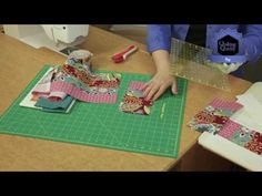 Quilting Quickly: Pop - Easy Quilting Project - YouTube