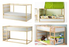 ikea kura bed hack - Google Search