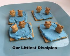 Jesus Of New Testament Matthew Mark Luke 5 Daily Kids Scripture Lessons Activities Crafts For Children And Peter Walk On The Water Snack
