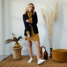 Sustainable Textiles, Sustainable Design, Made Clothing, Black Blazers, Ethical Fashion, Summer Collection, Capsule Wardrobe, The Borrowers, Turmeric