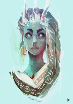 Goddess, Raquel Cornejo on ArtStation at https://www.artstation.com/artwork/goddess-3