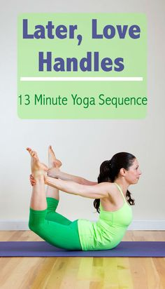Tone up your stomach with this 13 minute yoga sequence! Such a great work out! #yoga #workout