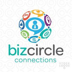 Biz Circle Connections Communication Globe