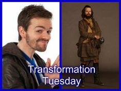 1a-102 ~ CASTLE LEOCH ~ Stephen Walters plays Angus Mhor in #Outlander Starz series by Ronald D. Moore;